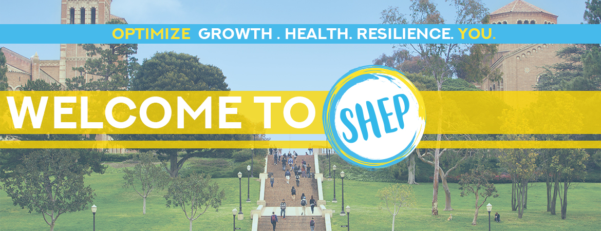 Welcome SHEP Flyer: Optimize Growth, Health, Resilience, You.